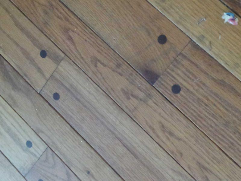 Pegged Hardwood Flooring